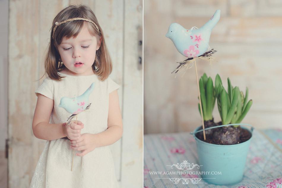 wiosenna sesja dla dziecka